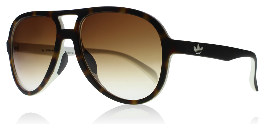Compare retail prices of adidas Originals 12.148 Sunglasses Havana / White 12.148 56mm to get the best deal online