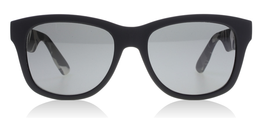 McQ AM0012S Matte Black 001 53mm