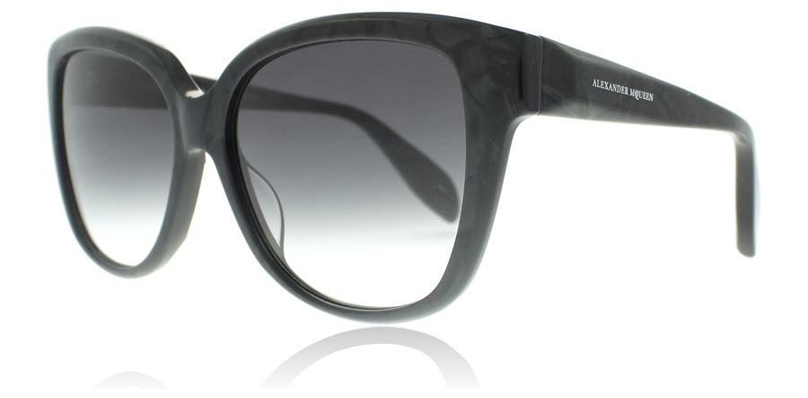 Compare prices for Alexander McQueen AM0041S Sunglasses Grey 003 57mm