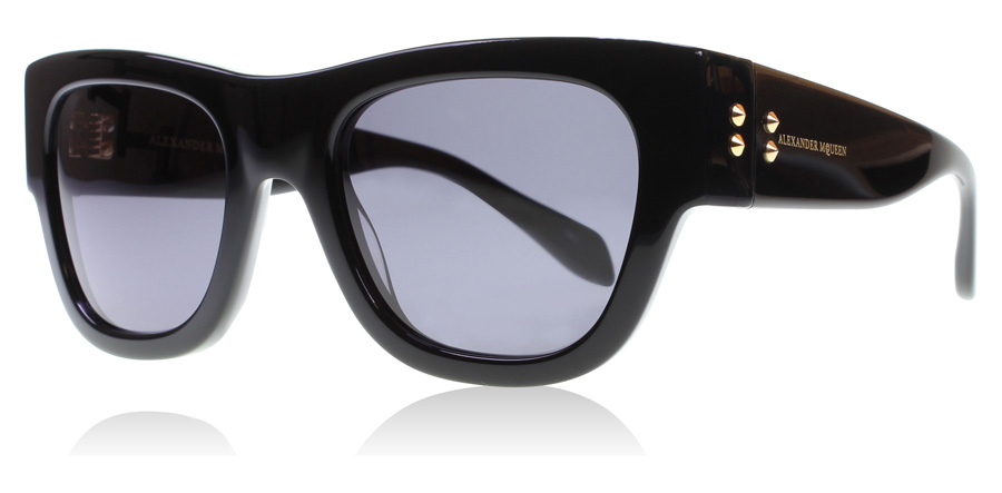 Compare prices for Alexander McQueen AM0033S Sunglasses Black AM0033S 51mm