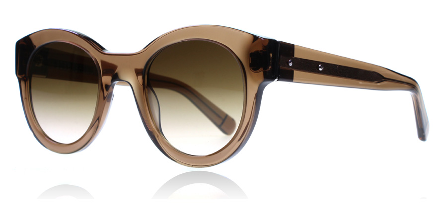 Bobbi Brown The Zoes Sunglasses Transparent Brown BKC