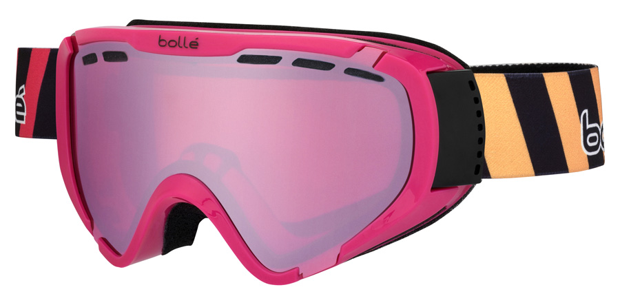 Bolle Junior Explorer Age 6 + Years 21353 Shiny Pink Stripes 180mm