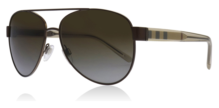 9461980dd4f Burberry BE3084 Sunglasses   BE3084 Brushed Brown BE3084 57Mm   UK