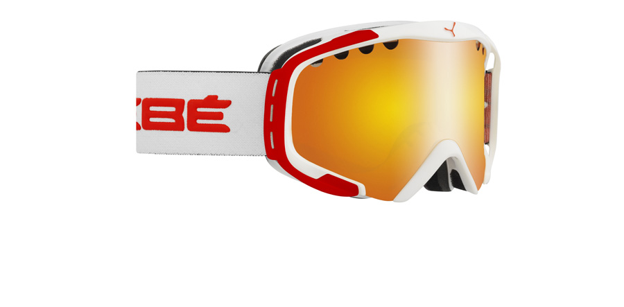 Cebe Hurricane M White / Red 85mm