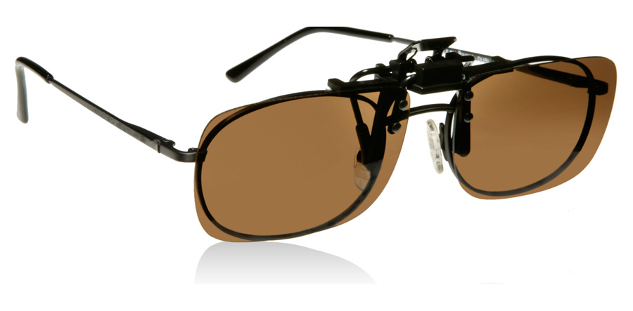 cocoons rectangle clip on sunglasses sunglasses