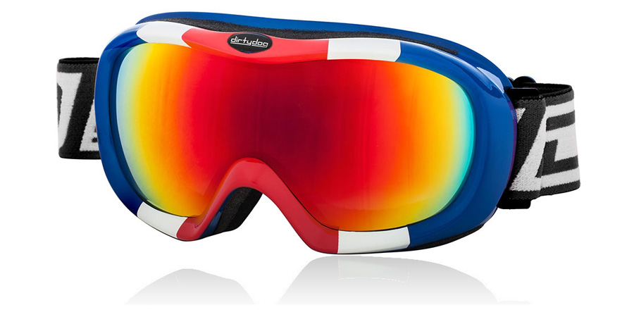 Dirty Dog Goggles Scope Red White and Blue 54096 Large
