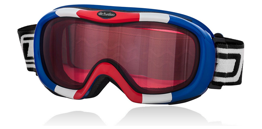 Dirty Dog Goggles Scope Red White and Blue 54108 Large