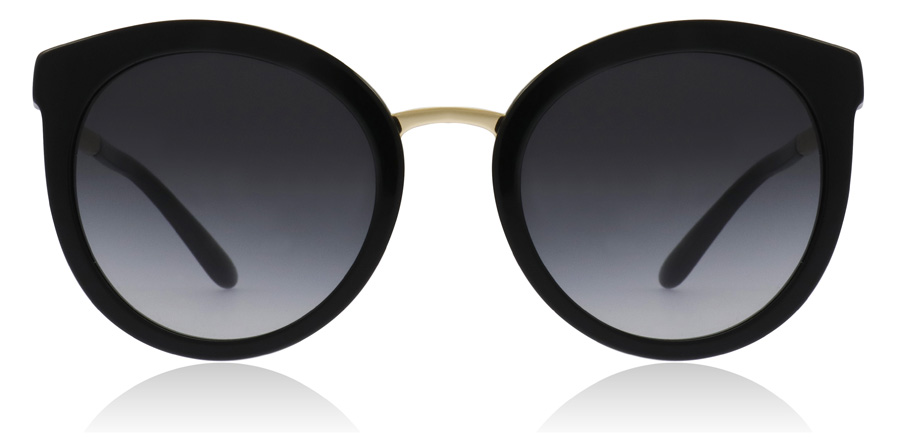 Dolce and Gabbana DG4268 Black / Gold 5018G 52mm