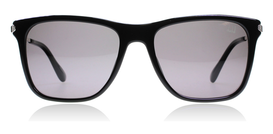 dunhill SDH005 Black/Silver 700P 55 Black / Silver 55mm Polarised