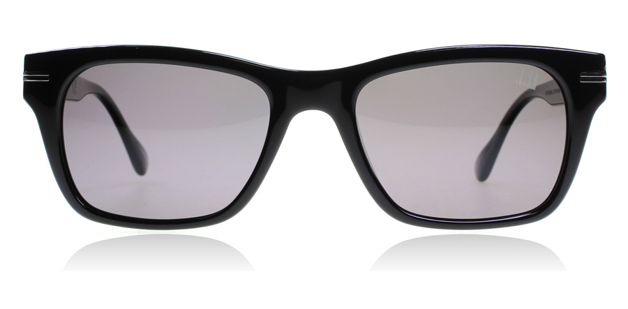 dunhill SDH014 Shiny Black 700P 52mm Polarised