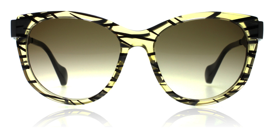 Fendi FF0181/S 0181/S Yellow / Print VDWCC 54mm