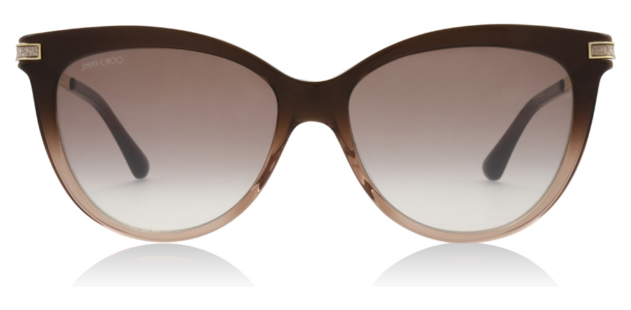Jimmy Choo AXELLE/G/S Brown / Beige 0MY 56mm