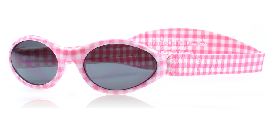 KidzBanz Adventure 2-5 years Age Years Pink Gingham APG 50mm