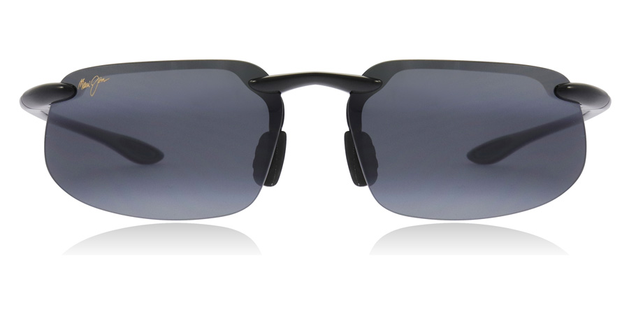 Maui Jim Kanaha 409-02 Gloss Black 61mm Polarised