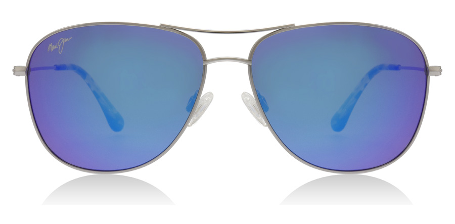 Maui Jim Cliff House B247 Silver 59mm Polarised
