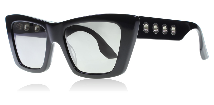 Compare prices for Alexander McQueen AM0019S Sunglasses Black AM0019S 52mm
