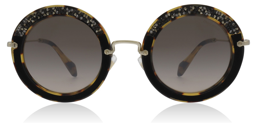 Miu Miu MU08RS Tortoise / Gold 7S04P0 49mm