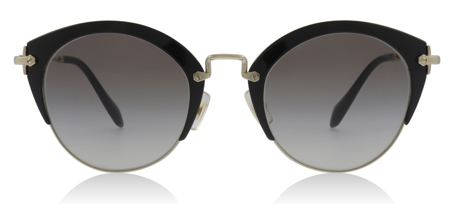 Miu Miu MU53RS Black / Pale Gold 1AB0A7 52mm