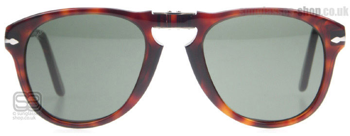 Persol PO0714 PO0714SM Tortoise / Red 24/31 52mm