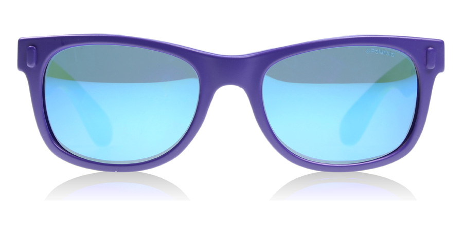 Polaroid Junior PLD 0115L Age 3-5 Years P0115L Purple / Lime Green UDFJY 45mm Polarised