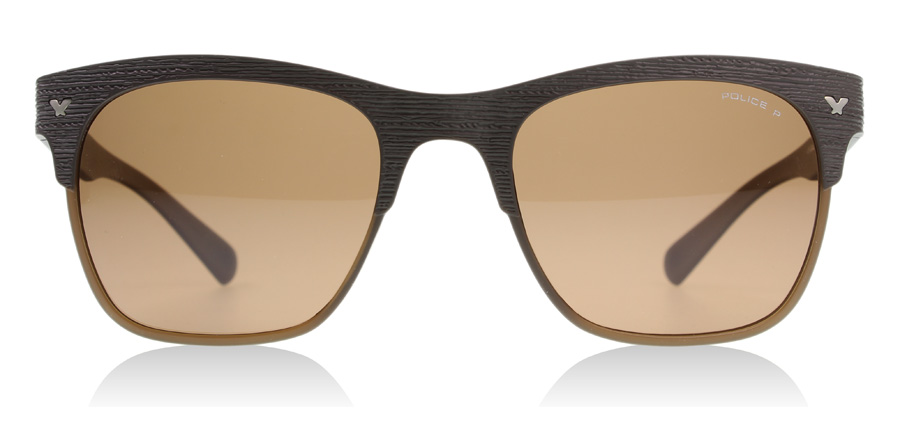 Police Game 2 Sunglasses   Game 2 Brown S1950 53Mm   UK ffef9ae3090a