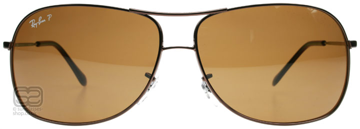 Ray-Ban RB3267 3267 Silver 014/83 64mm Polarised