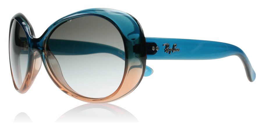 RayBan Junior 9048 Sunglasses Turquoise  Light Brown 1748E 50mm