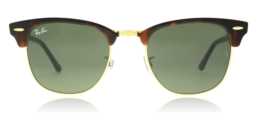 726343dc2c5 Ray-Ban RB3016 Sunglasses   RB3016 Gold   Tortoise RB3016 49Mm   UK