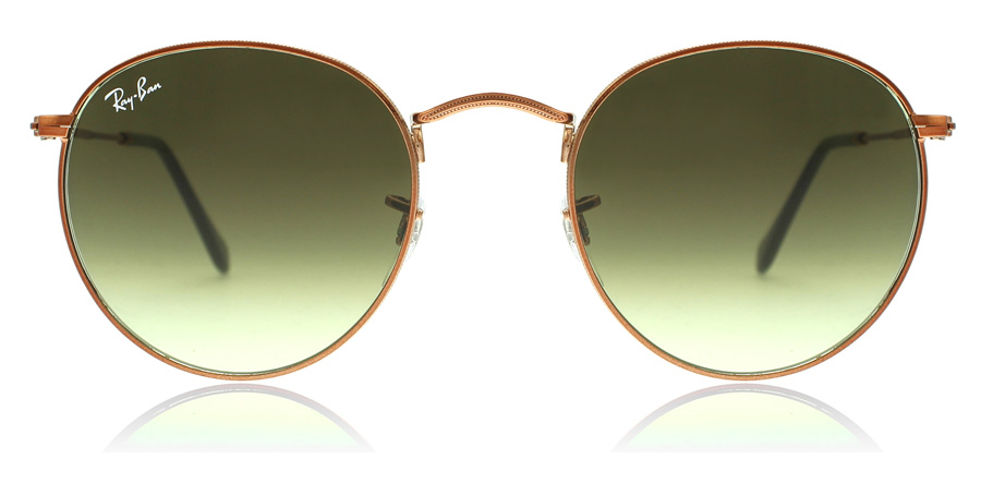 Ray-Ban RB3447 Shiny Medium Bronze 9002A6 53mm