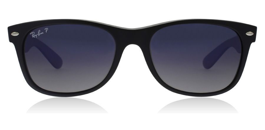 Ray-Ban RB2132 New Wayfarer Black 601S78 55mm Polarised
