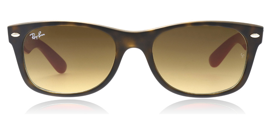 Ray-Ban RB2132 New Wayfarer Matte Havana 618185 52mm