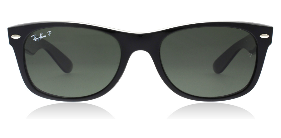 Ray-Ban RB2132 New Wayfarer Black 901/58 55mm Polarised