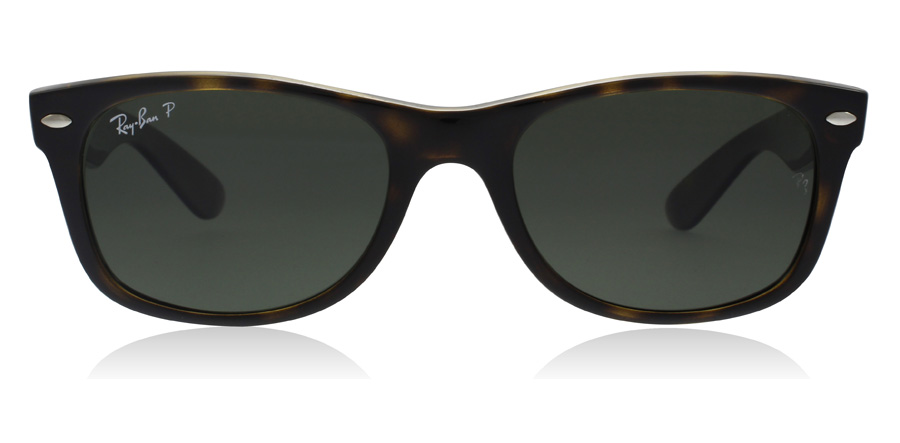 Ray-Ban New Wayfarer RB2132 Tortoise 902/58 55mm Polarised