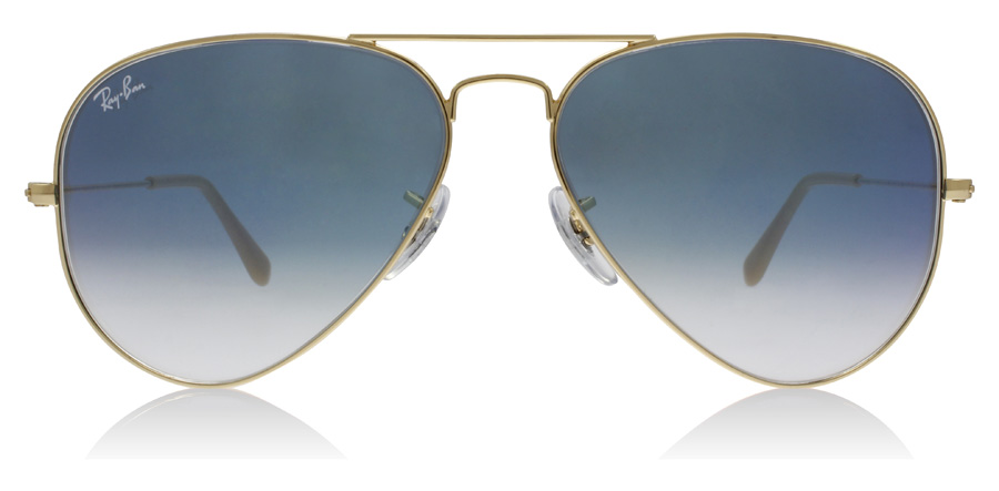 Ray-Ban RB3025 Gold 001/3F 58mm