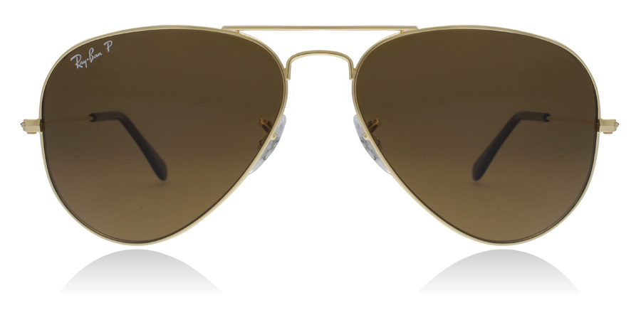 Ray-Ban Aviator RB3025 Crystal Brown 001/57 58mm Polarised