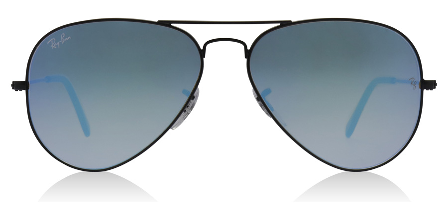 Ray-Ban RB3025 Shiny Black 002/4O 55mm