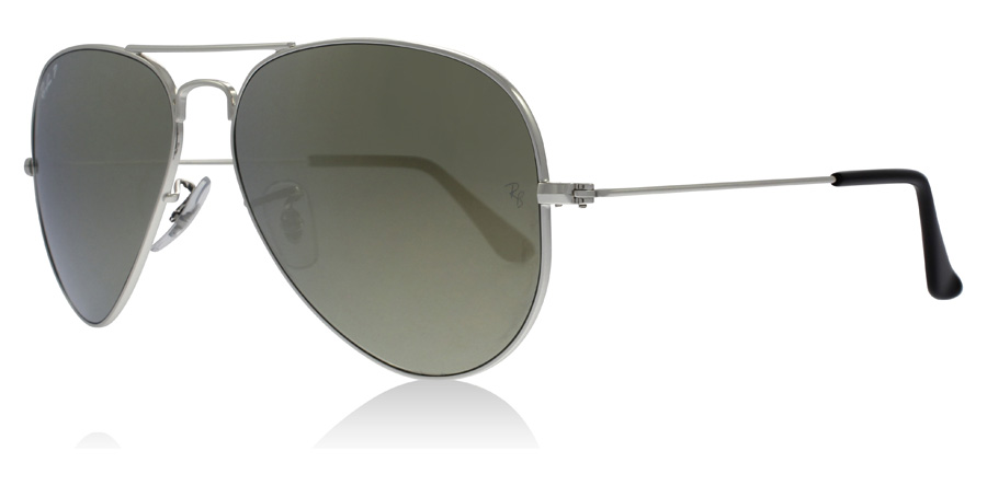 bfdc3b705e2 Ray-Ban RB3025 Sunglasses   RB3025 Silver RB3025 58Mm   UK