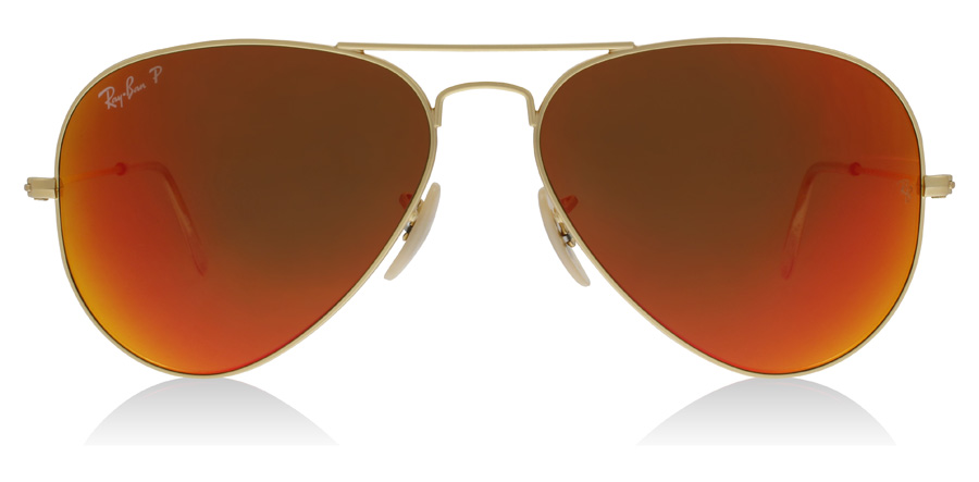 Ray-Ban Aviator RB3025 Matte Gold 112/4D 58mm Polarised
