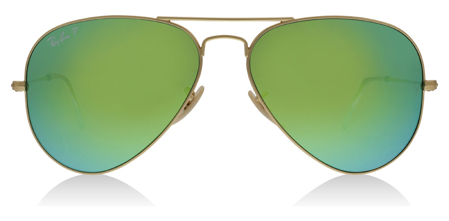 Ray-Ban Aviator RB3025 Gold 112/P9 58mm Polarised