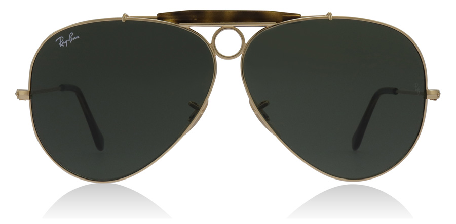7c136ce1b2b5f ... usa ray ban aviator shooter ray ban shooter 3138 rb3138 gold 181 62mm.  free delivery