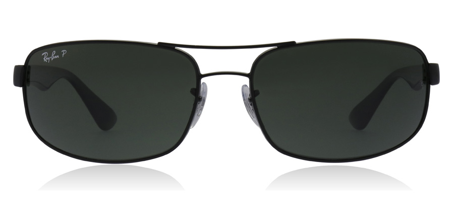 Ray-Ban RB3445 Black 002/58 64mm Polarised
