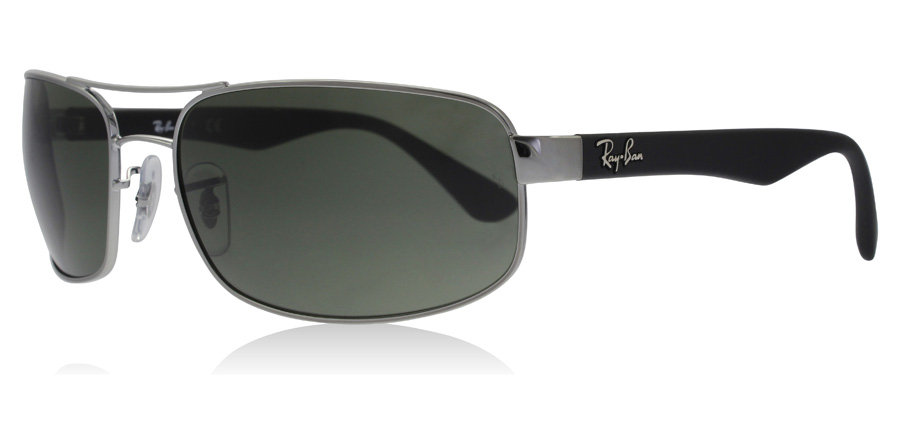 cc567bf3d4677 Ray-Ban RB3445 Sunglasses   RB3445 Gunmetal RB3445 61Mm   UK