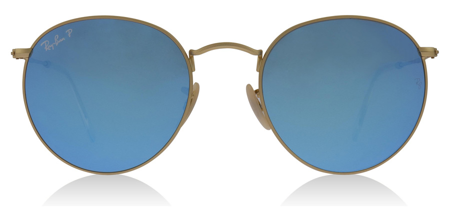 Ray-Ban RB3447 Matte Gold 112/4L 50mm Polarised