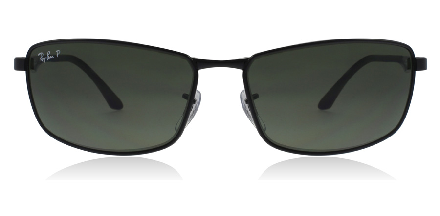 Ray-Ban RB3498 Black 002/9A 61mm Polarised