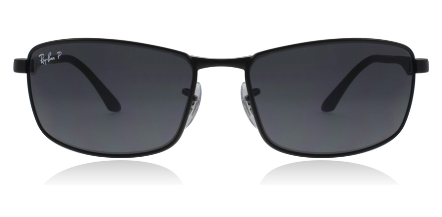 Ray-Ban RB3498 Black 006/81 61mm Polarised