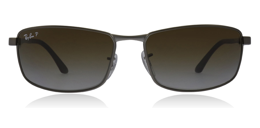Ray-Ban RB3498 Matte Gunmetal 029/T5 61mm Polarised
