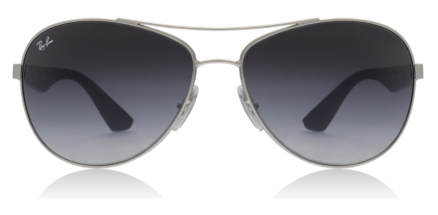 Ray-Ban 3526 RB3526 Matte Silver 019/8G 63mm