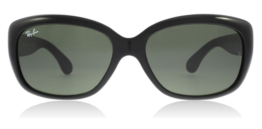 Ray-Ban Jackie Ohh RB4101 Shiny Black 601 58mm