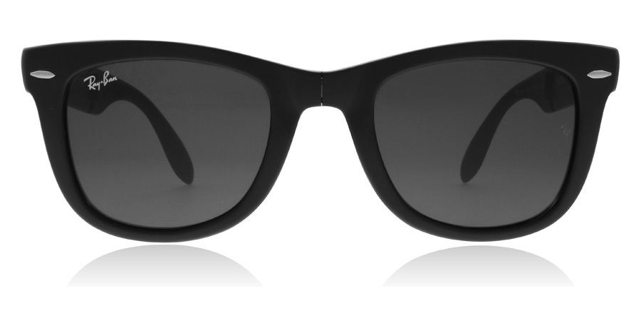 Ray-Ban RB4105 Folding Matte Black 601S 50mm