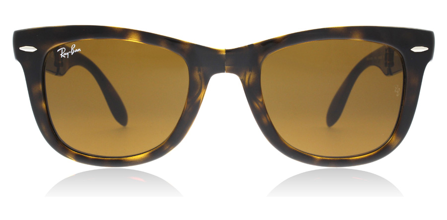Ray-Ban RB4105 Folding Light Havana / Crystal 710 54mm